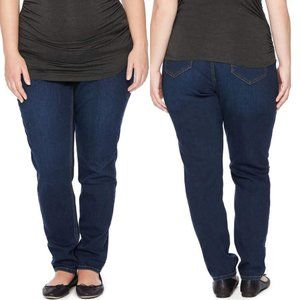 Jessica Simpson Maternity Skinny Jeans 2X